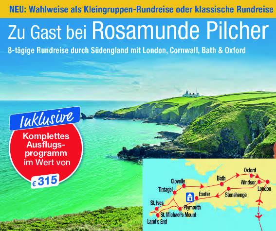 Reise Blick auf die grüne englische Küste Meer Landkartenausschnitt einer Reise