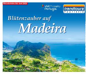 trendtours Reise Madeira Meer Grüne Küste