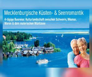Deutschland Busreise trendtours Mecklenburg Seenplatte Landschaft