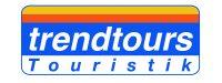 Reise Logo Aufschrift trendtours Touristik