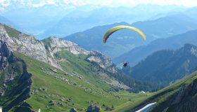 Bucket List Falschirmspringen Fallschirm Berge